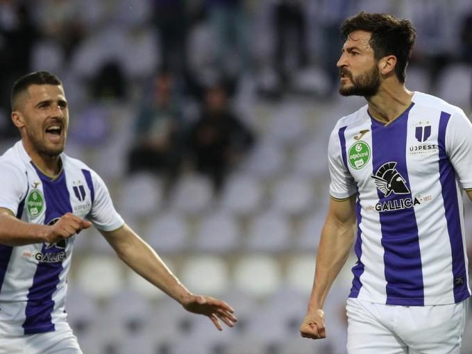 Bajban az Újpest: három fontos játékos is sérült