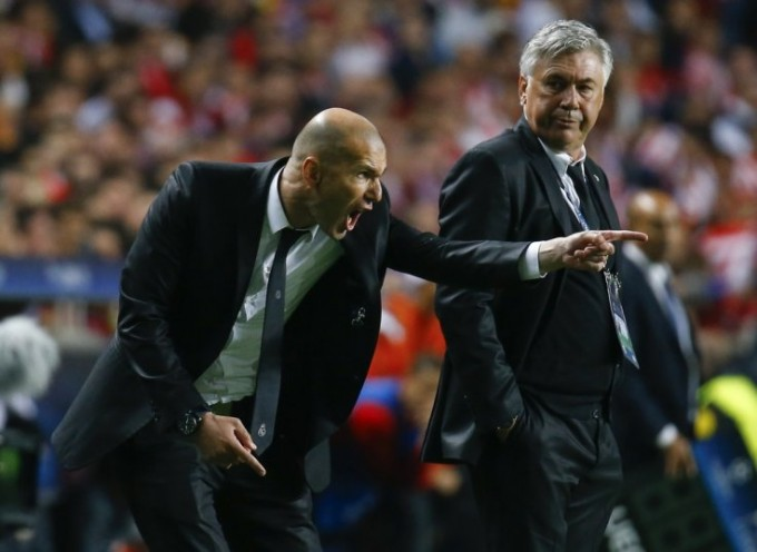 Mi lesz ebből? Zidane kontra Ancelotti!