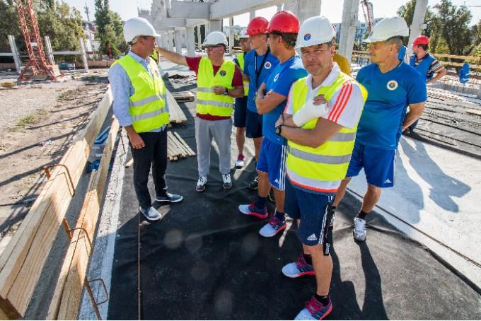 Így néz ki most az átépítés alatt álló Vasas stadionja - kép