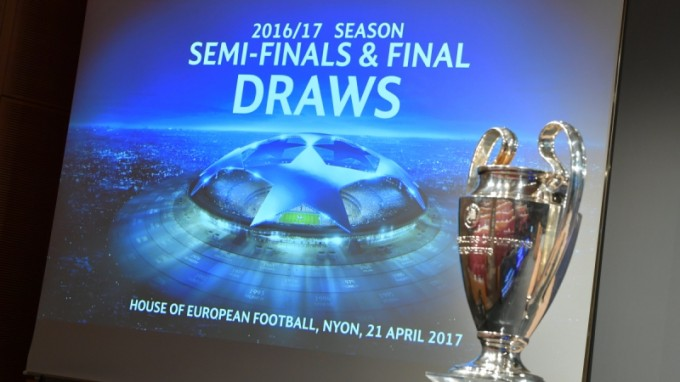 Kisorsolták a Bajnokok Ligája elődöntőinek párosításait