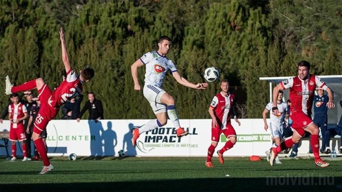 Három perc után lőtt gólt a Vidi értékelő csatára