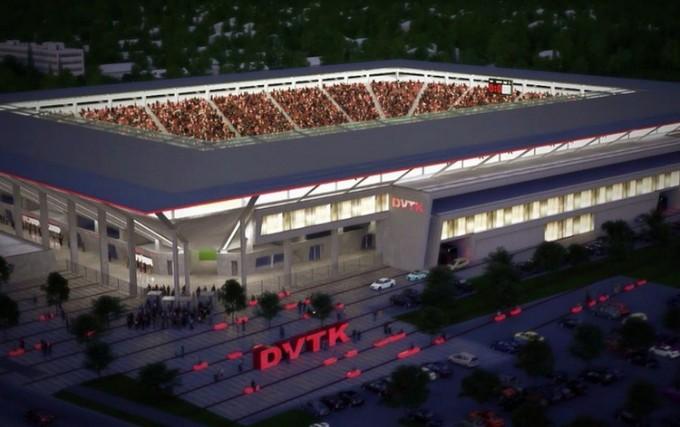 Nem készül el a DVTK stadionja a Fradi elleni meccsre