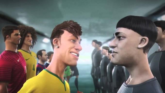 Így varázsol rajzfilmben Ronaldo, Neymar, Ibra és a többi sztár - videó