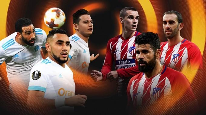Marseille-Atlético: kezdőcsapatok