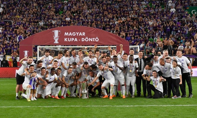 Fantasztikus fotók a Magyar Kupa-döntőről - galéria