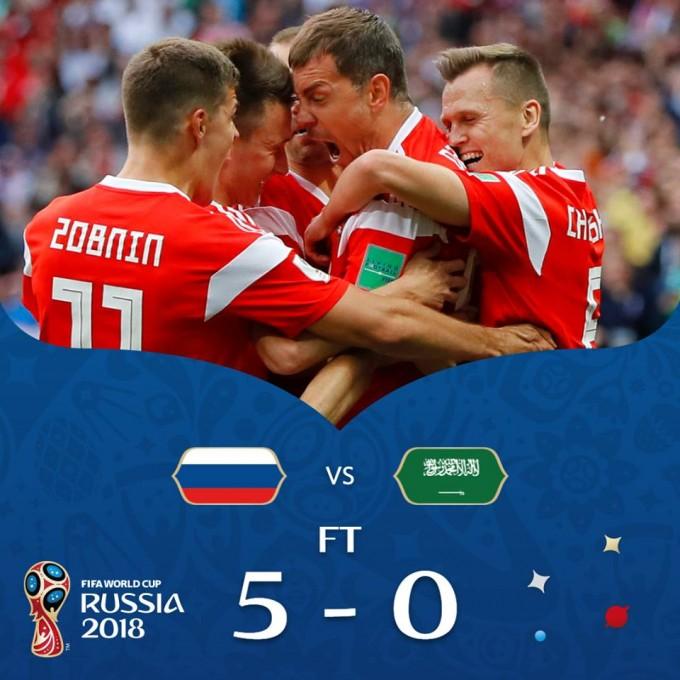 Oroszország letörölte a világbajnokság térképéről Szaúd-Arábiát – videó