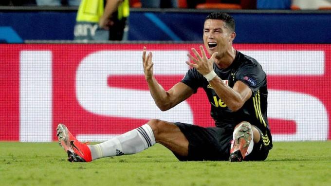 Ronaldo nem játszhat a volt csapata ellen sem?