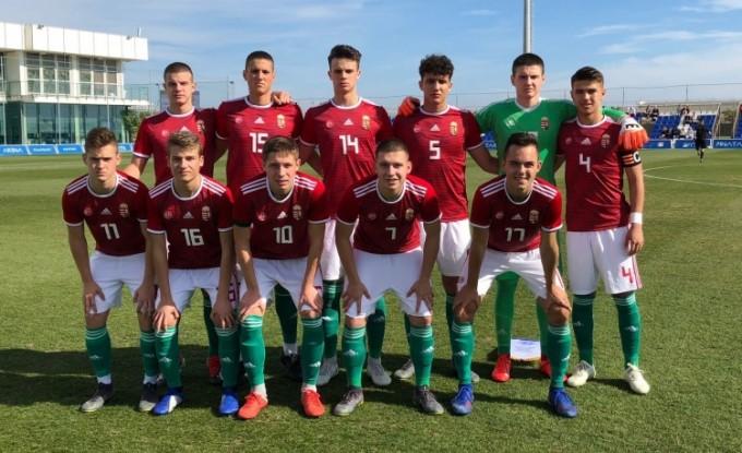 Bravúrt mutatott be az U17-es válogatottunk az angolok ellen