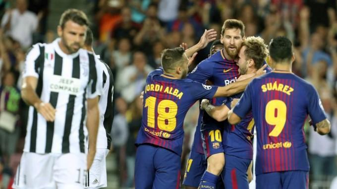 Így varázsolt Messi a Juventus ellen - videó