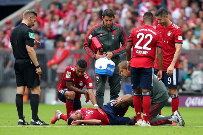 Óriási pech érte a Bayernt, megsérült a világbajnok