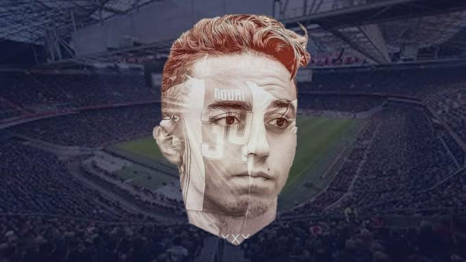 Hátborzongató: így támogatják az Ajax játékosát - videó