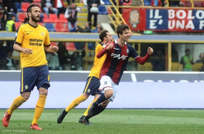 Íme Nagy Ádám első gólja az olasz bajnokságban - videó