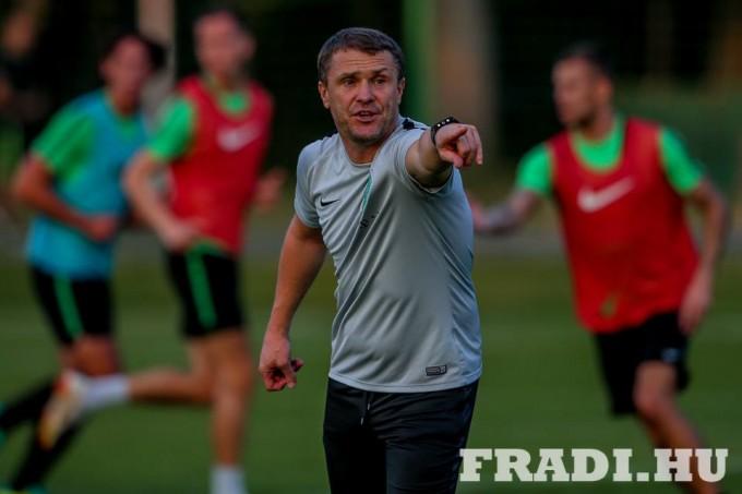 Rebrov: Fradi-vezető kérése a szurkolókhoz
