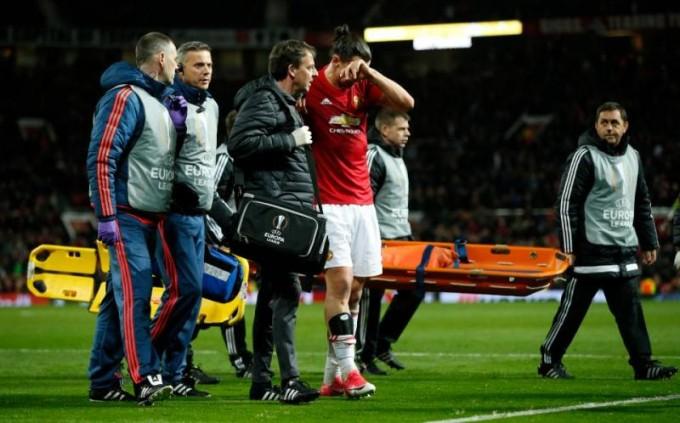Így szenvedett horrorsérülést Ibrahimovic