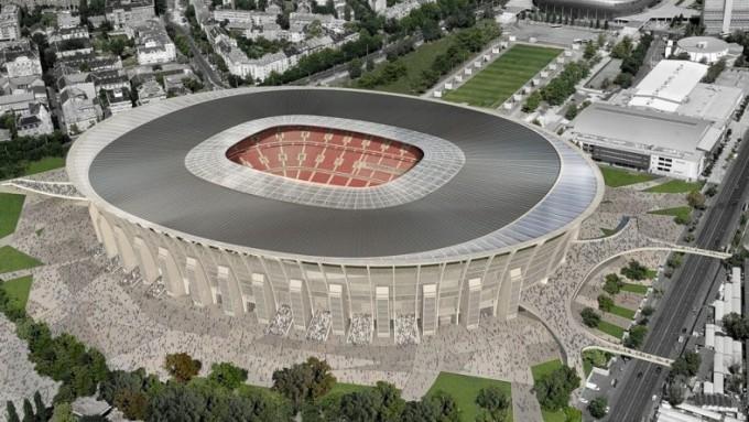 1000 tonnás daruval is építik az új Puskás Ferenc Stadiont - képek