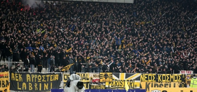 AEK-ultrákkal üzent a Vidi Tábor Garancsinak - videó