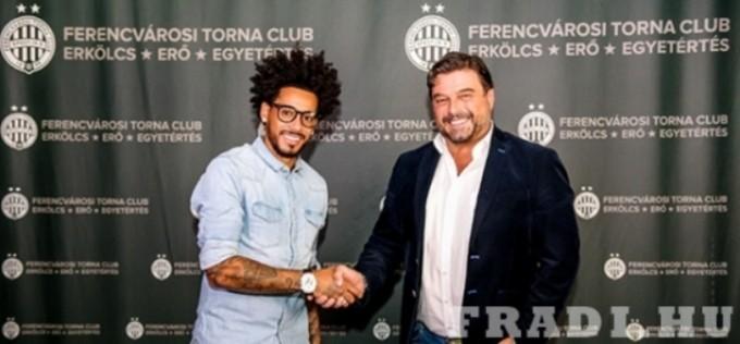Gólerős brazil támadóval erősített a Fradi