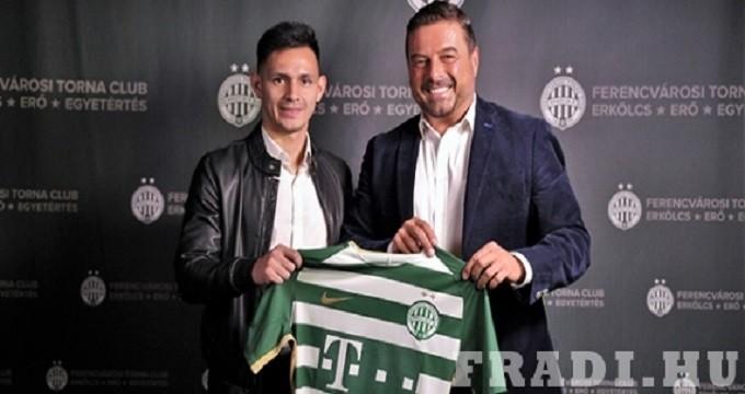 204 millió forintért igazolt új játékost a Fradi