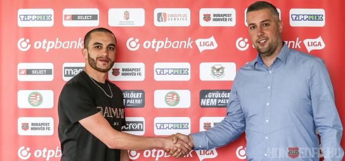 Honvéd: újabb játékos hosszabbított