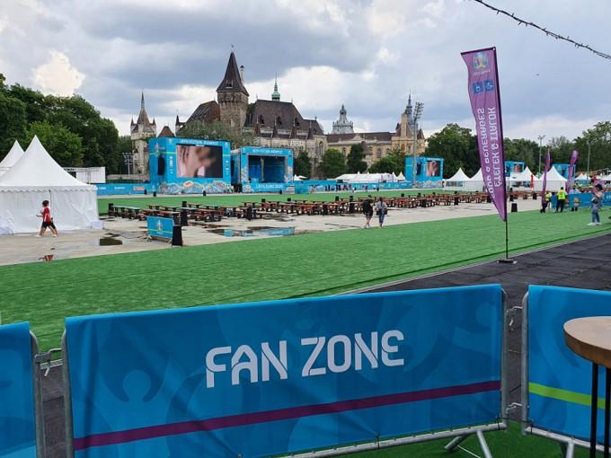 Eb2020: bemutatták a budapesti szurkolói zónát - videók, képek
