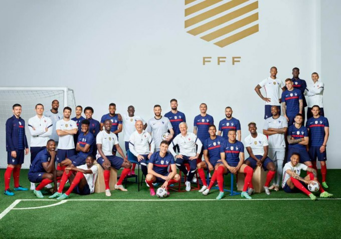 Eb2020: exkluzív felvétel a franciák edzéséről - videó
